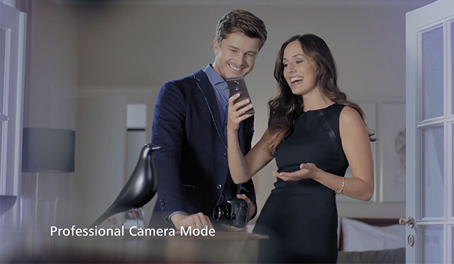 "Huawei ""Professional Camera Mode"" (Commercial)"